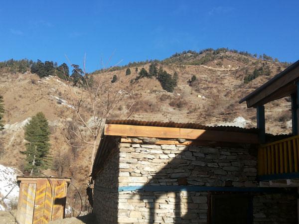 Jhari hutu which is 2 hours before Rara Lake