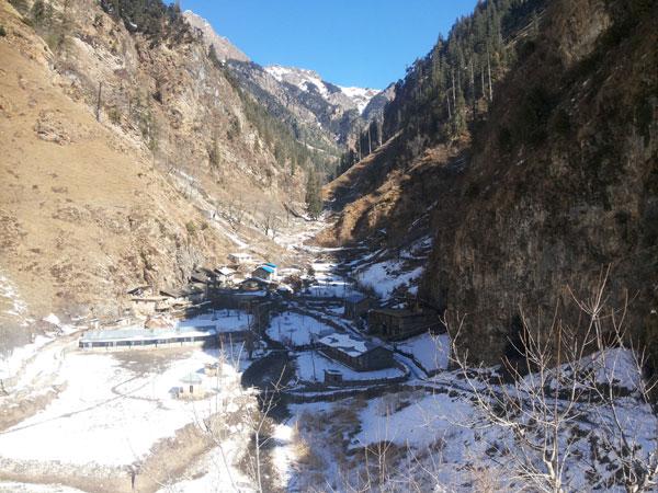 Choutha jumla takes 1-2 days from jumla