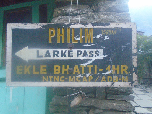 Manaslu trek route, trek route of Manaslu trek Nepal