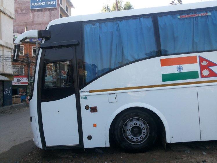 Kathmandu to Delhi Kathmandu AC Volvo Bus service