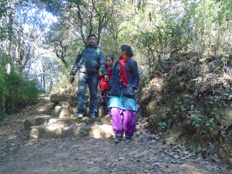 Family holidays trekking Near from Kathmandu valley, Kathmandu valley trekking with family
