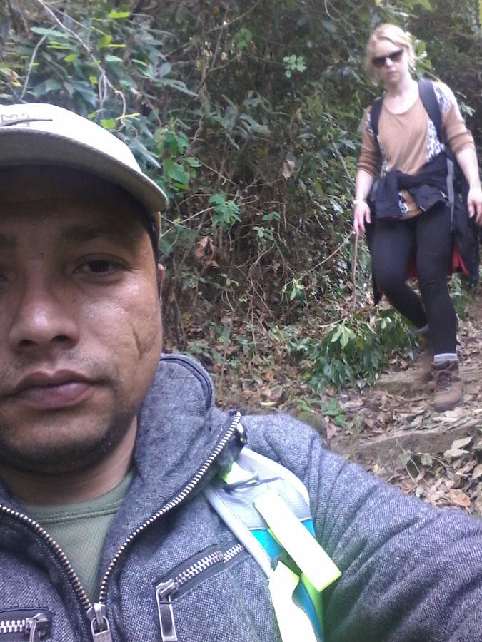 Hiking-in-kathmandu-champad