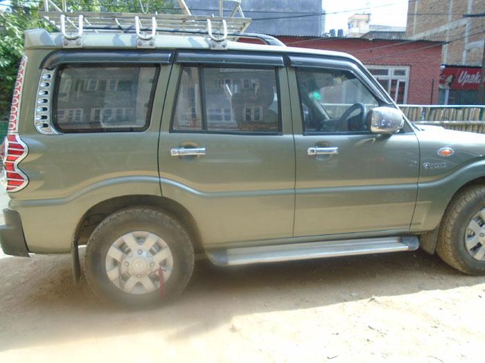 Scorpio jeep rental service to Muktinath from Pokhara and Kathmandu