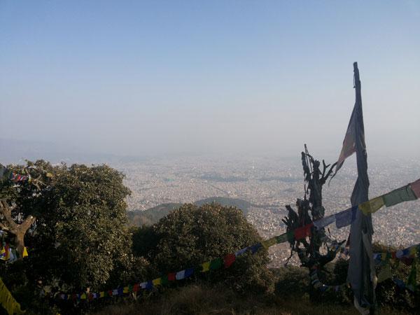 Scenic kathmandu hike, best scenery hiking kathmandu,