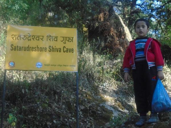 20 minutes down fromn the Shivapuri top.