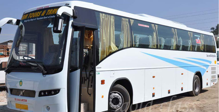 Kathmandu to Pokhara Super deluxe bus arrange by the green city travel and tours.